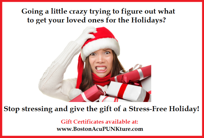 holiday gift certificates available